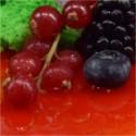 Z kawałkami owoców