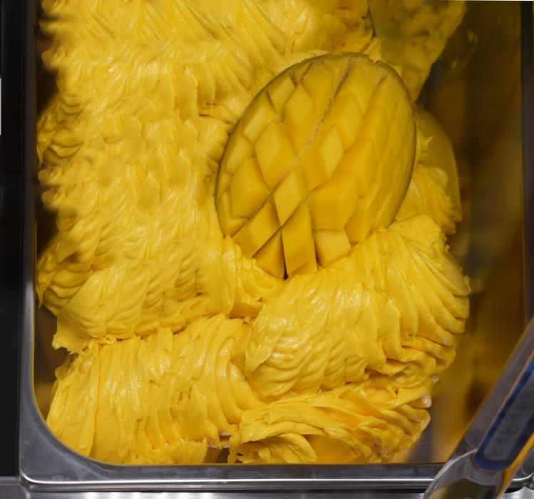 Pasta do lodów i kremów o smaku mango